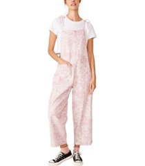 cotton on woven clelia pinafore jumpsuit