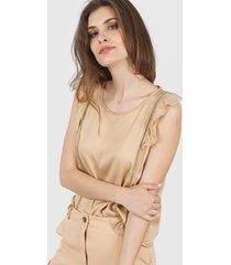 blusa marrón nano 0621