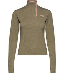ane h/z sweat-shirts & hoodies fleeces & midlayers grön kari traa