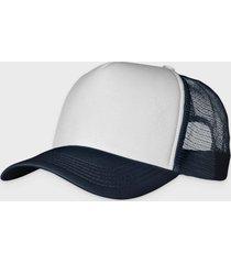 czapka (bez nadruku, gładka) - granatowa