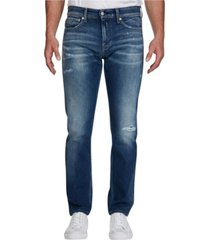 jeans slim 026 azul calvin klein