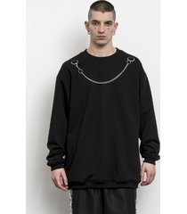 bluza chain crew neck