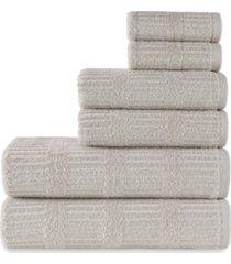 talesma bermuda 6 pieces towel set bedding