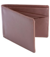 men's royce new york rfid blocking slim bifold wallet