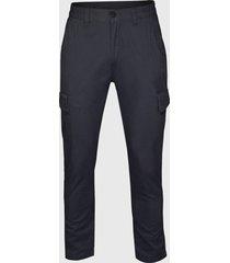 pantalón cargo casual regular fit azul andesland