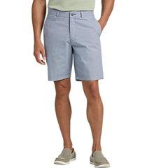 joseph abboud navy patterned modern fit shorts