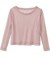 tulen shirt, roze 38