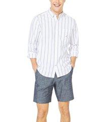 nautica men's oxford stripe shirt