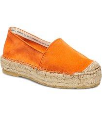 ida sandaletter expadrilles låga orange pavement