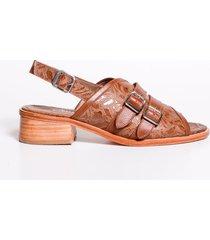 sandalia marrón christ monel carlo