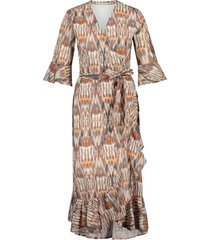 aaiko arnelle wrapp dress