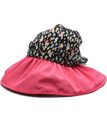cappello estivo da donna protettivo da sole estivo da spiaggia. cappello protettivo da visiera anti-uv largo