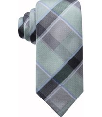 ryan seacrest distinction men's ruby plaid necktie, created for macy's