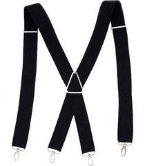 pantalón ajustable 4 abrazadera correa elástica del pantalón tirantes