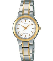 reloj casio ltp_1131g_7ar multicolor acero inoxidable