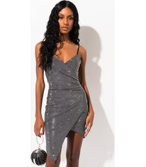 akira just me studded mini dress
