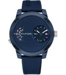 reloj azul tommy hilfiger 1791556 - superbrands