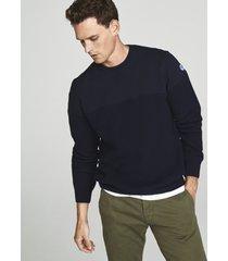 maglia in lana e jersey