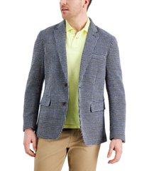 tasso elba men's knit sport coat, created for macy's