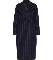 carmen-mohair blend outerwear coats wool coats blauw j. lindeberg
