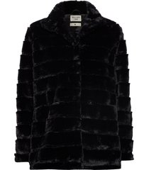 novel outerwear faux fur zwart tiger of sweden jeans