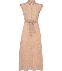 feyaiw dress maxi dress galajurk beige inwear