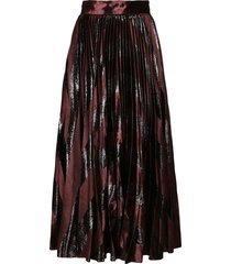 dolce & gabbana black and brown wool skirt