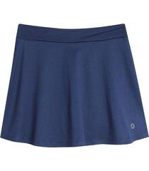 falda azul facol