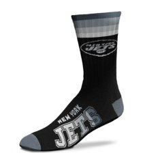 for bare feet new york jets platinum deuce socks