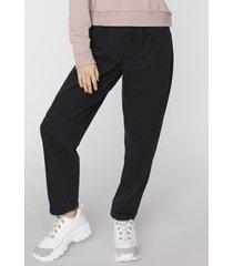 jeans slouchy básico negro  corona