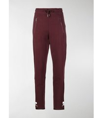courrèges high-waisted track pants