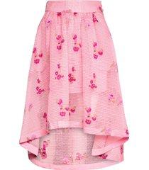 tania knälång kjol rosa custommade