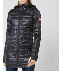 canada goose women's hybridge lite jacket - graphite/black - s