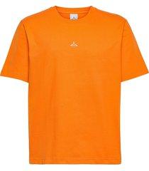 hanger tee t-shirts short-sleeved orange hanger by holzweiler