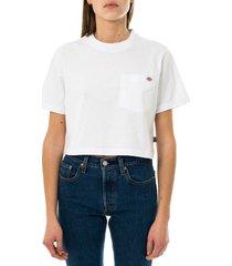 dickies t-shirt donna ss porterdale crop w dk0a4xdewhx