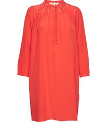 lyan korte jurk rood vanessa bruno