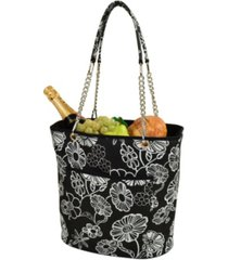 picnic at ascot insulated fashion cooler bag - 22 can leak proof tote