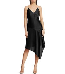 eleonora satin slip dress