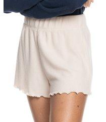 roxy juniors' cozy day rib knit lounge shorts