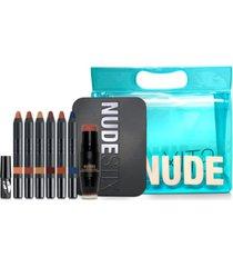 nudestix 10-pc. sun & sea nude beach palette set