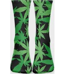 skarpetki za kostkę fullprint (41-45) marihuana 2