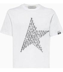 golden goose adamo t-shirt gmp00780. p000452