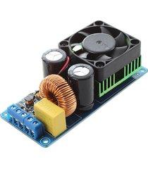 azul de alta fidelidad tarjeta de alimentación de 500w mono irs2092s canal amplificador digital de clase d amp