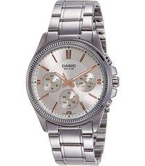 reloj casio mtp-1375d-7a2-gris