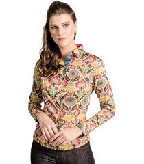 camisa slim florida carlos brusman feminina