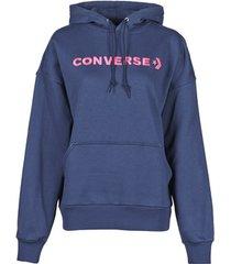 sweater converse embroidered wordmark hoodie