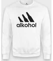 bluza parodia adidasa - alkohol