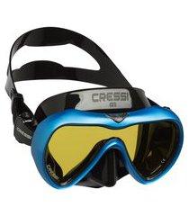 máscara de mergulho cressi a1 anti fog - azul