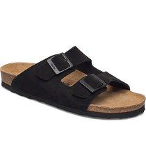 valdi shoes summer shoes flat sandals svart mjúka