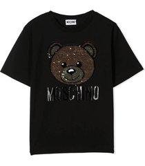 t-shirt orso pailettes